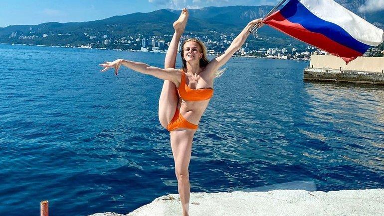 Марина Голядкина, синхронное плавание.