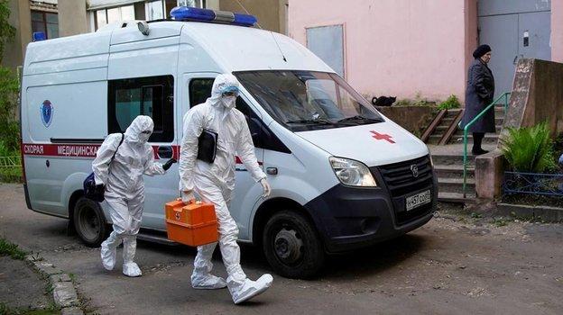 Коронавирус в России. Фото Reuters