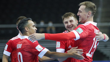 Сборная России помини-футболу. Фото АМФР