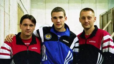 Дмитрий Аленичев, Андрей Шевченко иАндрей Тихонов. Фото Instagram