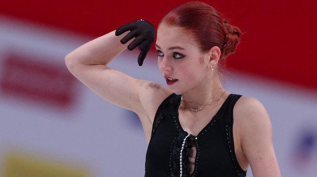 Александра Трусова. Фото Дарья Исаева, «СЭ» / Canon EOS-1D X Mark II