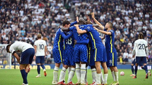 «Челси» обыграл «Тоттенхэм». Фото AFP