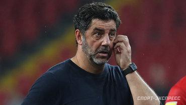Витория ответил навопрос овозможной отставке споста главного тренера «Спартака»