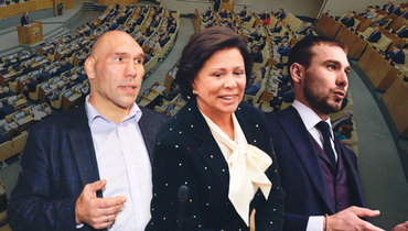 Николай Валуев, Ирина Роднина, Антон Шипулин. Фото «СЭ»