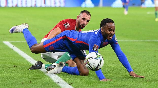 Венгерские болельщики позволили себе расистские выкрики вадрес игроков сборной Англии. Фото Getty Images