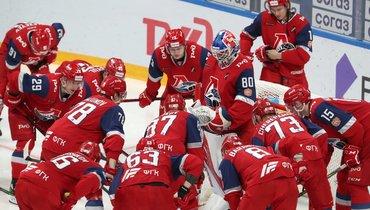 Хоккеисты «Локомотива». Фото ХК «Локомотив», vk.com/hclokomotiv_official