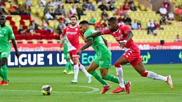 «Монако»— «Сент-Этьен»— 3:1. Фото ФК «Монако».