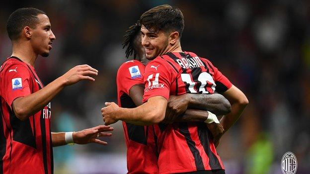 22сентября. «Милан»— «Специя»— 2:0. Фото ФК «Милан».