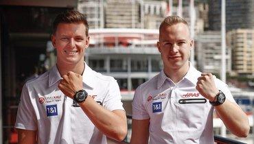 Никита Мазепин (справа) иМик Шумахер. Фото Instagram