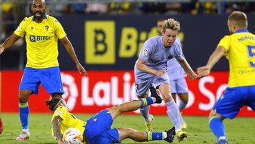 «Кадис»— «Барселона»— 0:0. Фото Reuters