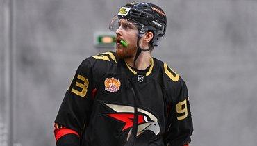 Дмитрий Соколов всоставе «Омских Крыльев» вВХЛ. Фото vk.com/omsk_wings