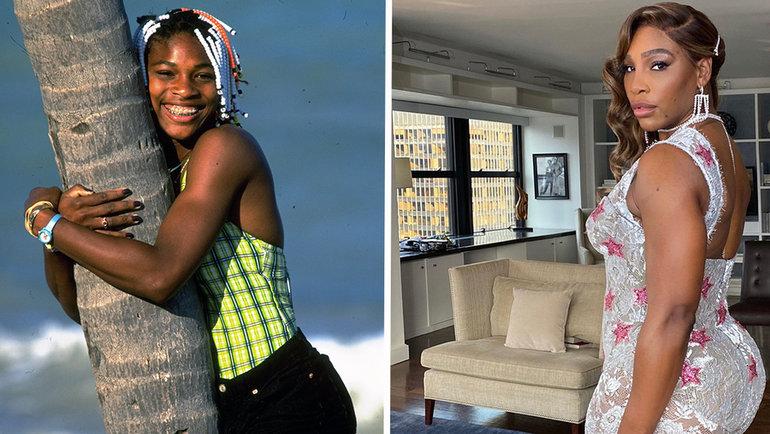Серена Уильямс— одна извыдающихся спортсменов современности. Отличается агрессивным стилем игры имощными подачами.