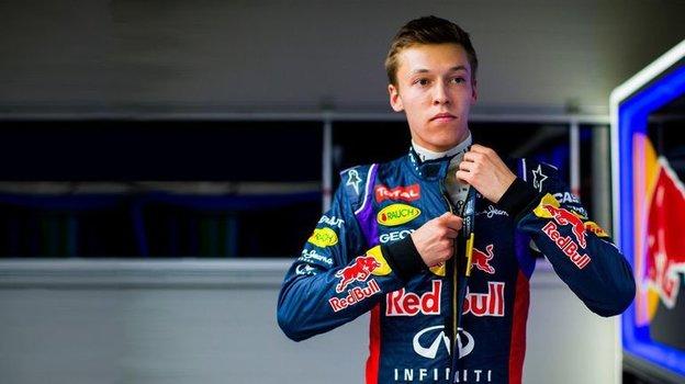 Даниил Квят. Фото Сайт Red Bull