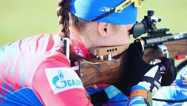 Казакевич выиграла спринт начемпионате России полетнему биатлону
