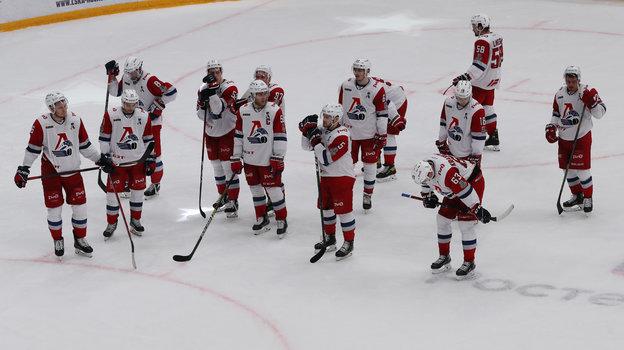 Хоккеисты «Локомотива». Фото Александр Федоров, «СЭ» / Canon EOS-1D X Mark II