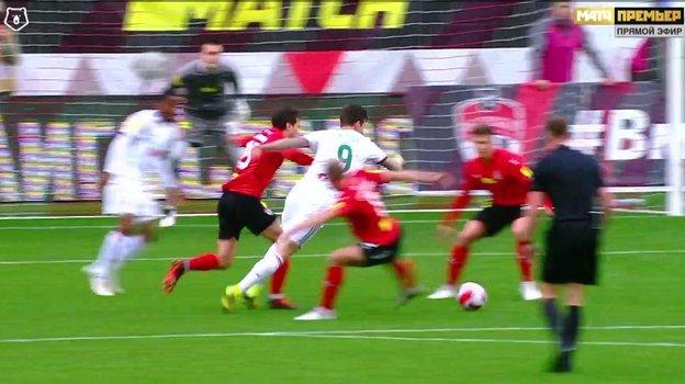 Алексей Амелин принял верное решение, ненаказав Егора Данилкина 11-метровым ударом.