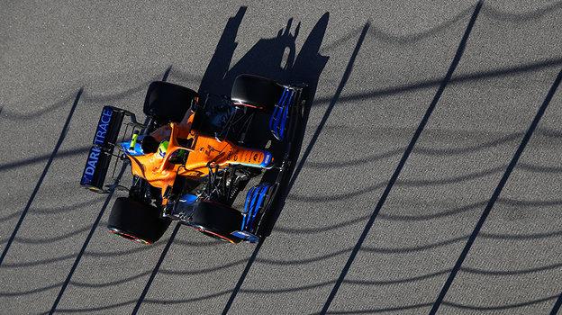Ландо Норрис выиграл квалификацию «Гран-при России». Фото Getty Images