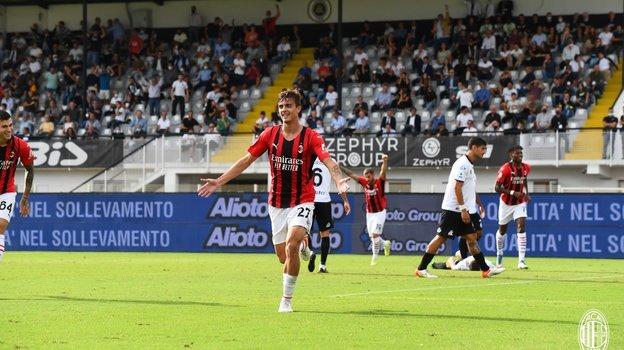 25сентября. «Специя»— «Милан»— 1:2. Фото ФК «Милан».