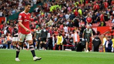 25сентября. Манчестер. «Манчестер Юнайтед»— «Астон Вилла»— 0:1. Криштиану Роналду. Фото AFP