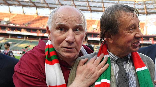 Валерий Баринов и Юрий Семин. Фото Александр Федоров, «СЭ»