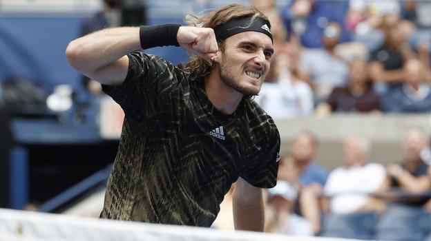 Стефанос Циципас. Фото USA Today Sports