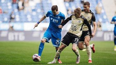 «Динамо» обыграло «Рубин» иподнялось навторое место вРПЛ. Фото Twitter