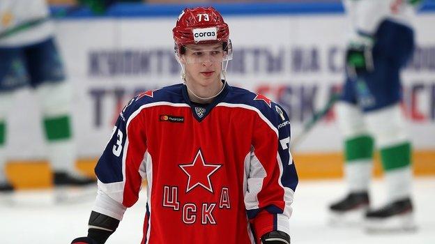 Даниил Чайка. Фото ХКЦСКА