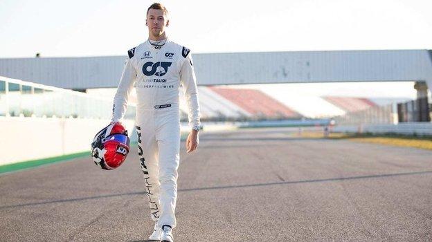 Даниил Квят. Фото Red Bull
