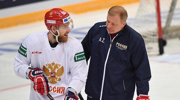 Алексей Жамнов (справа). Фото Александр Федоров, «СЭ» / Canon EOS-1D X Mark II