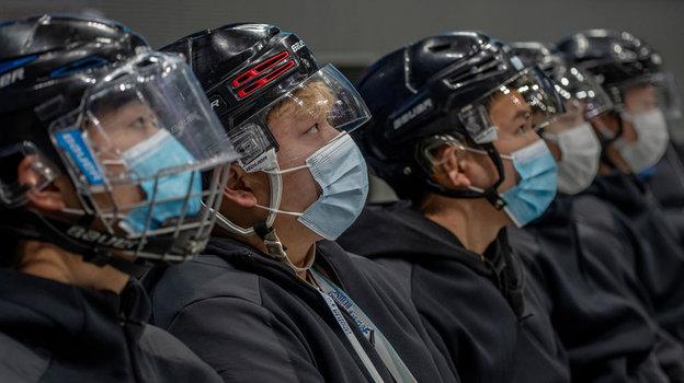 Китайские хоккеисты. Фото Getty Images