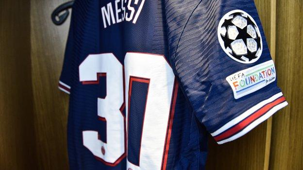 Футболка Месси. Фото Twitter