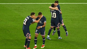 28сентября. Париж. «ПСЖ»— «Манчестер Сити»— 2:0. Фото Reuters