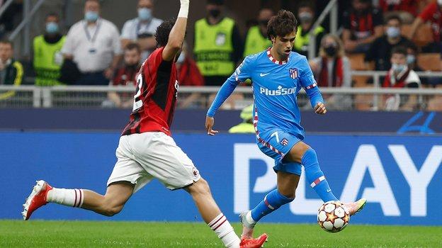 «Милан»— «Атлетико»— 1:2. Фото ФК «Атлетико»
