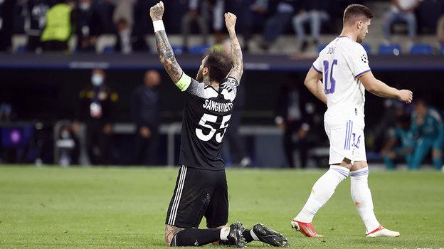 «Шериф» обыграл «Реал» в Лиге чемпионов со счетом 2:1. Фото Reuters