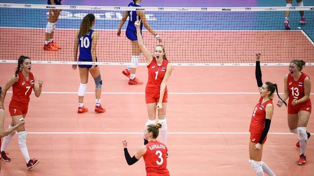 Женская сборная России поволейболу. Фото volleyballworld.com