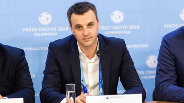 Александр Косырьков. Фото vc-lokomotiv.com