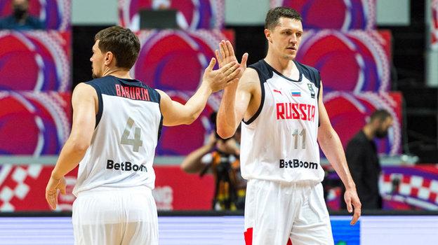 Баскетболисты сборной России. Фото Getty Images