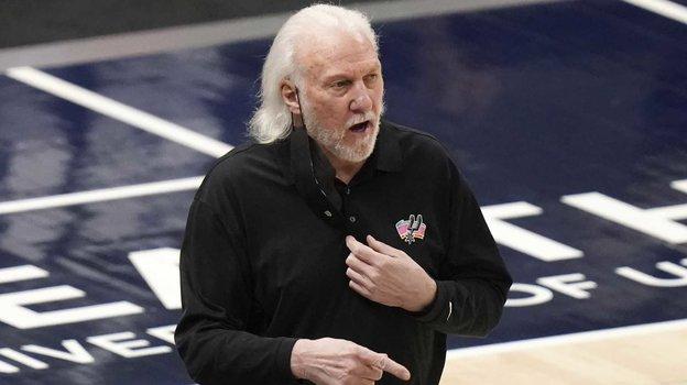 Грегг Попович. Фото USA Today Sports