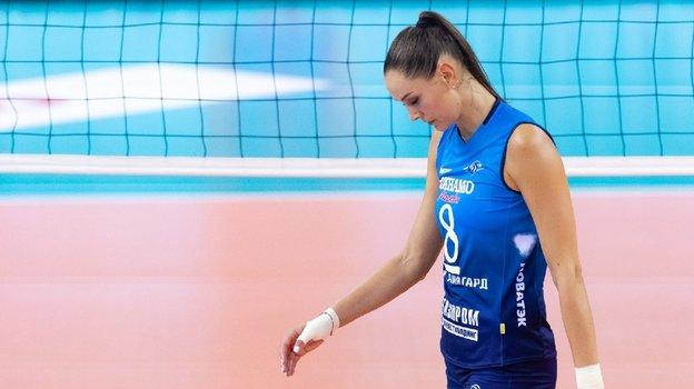 Наталия Гончарова. Фото ВК «Локомотив», vk.com/vc.loko
