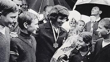 Эрика после ЧМ-1966.