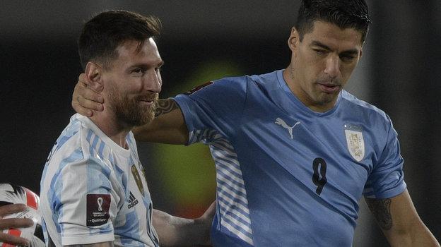 Колумбия— Бразилия— 0:0. Аргентина— Уругвай— 3:0. Чемпионат мира-2022. 11октября 2021. Обзор матчей, видео голов