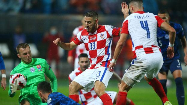 Хорватия— Словакия— 2:2, Македония— Германия— 0:4. ЧМ-2022, отборочный турнир, обзор матчей 11октября 2021
