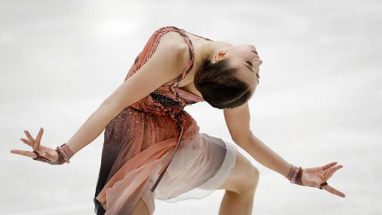 Камила Валиева наFinlandia Trophy.