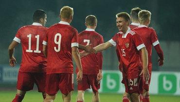 12октября. Алитус. Литва U21— Россия U21— 0:3. Фото РФС