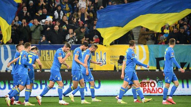 12октября. Львов. Украина— Босния иГерцеговина— 1:1. Фото AFP