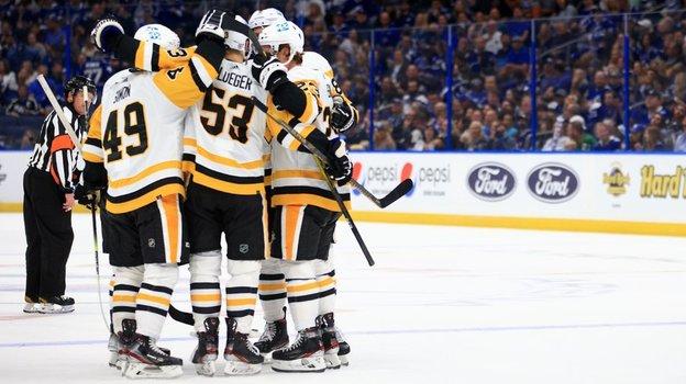 Тампа-Бэй— Питтсбург— 2:6, обзор матча НХЛ, видео голов, Андрей Василевский ошибся ипропустил гол, 13октября 2021 года