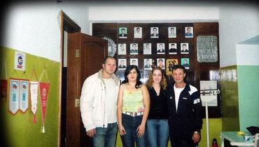Федор встарооскольском зале бокса. Начало 2000-х.