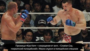 Бой затитул чемпиона Pride против Мирко Филипповича. 28августа 2005-го.