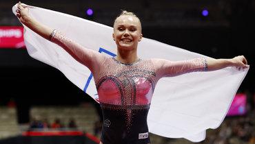 Мельникова принесла России историческое золото. Нопобеду Ангелины нельзя было увидеть наТВ