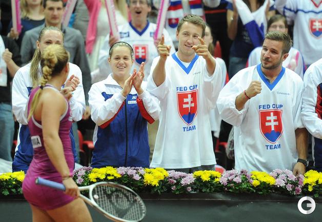 Россиянки в шаге от поражения в полуфинале Кубка федерации